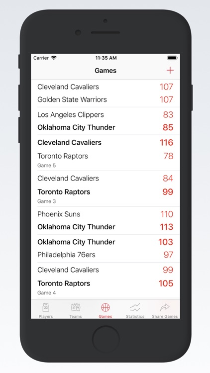 Basketball Stats PRO Phone screenshot-2