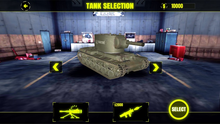 Futuristic Tank War Simulator 2018 screenshot-1