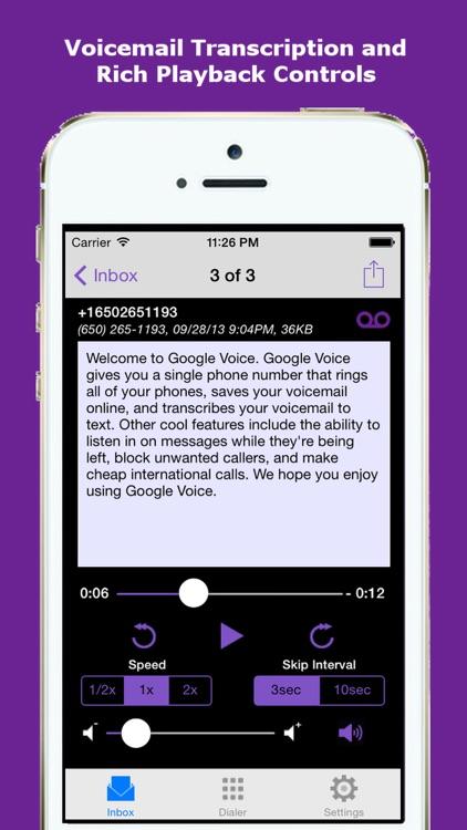 GV+ best app for Googol Voice screenshot-3