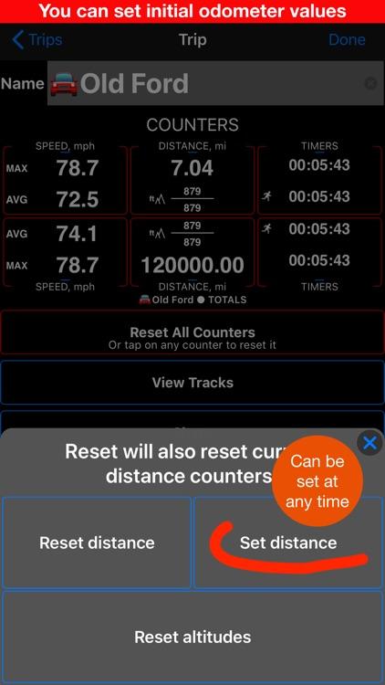 Speedometer 55 GPS Speed & HUD screenshot-8