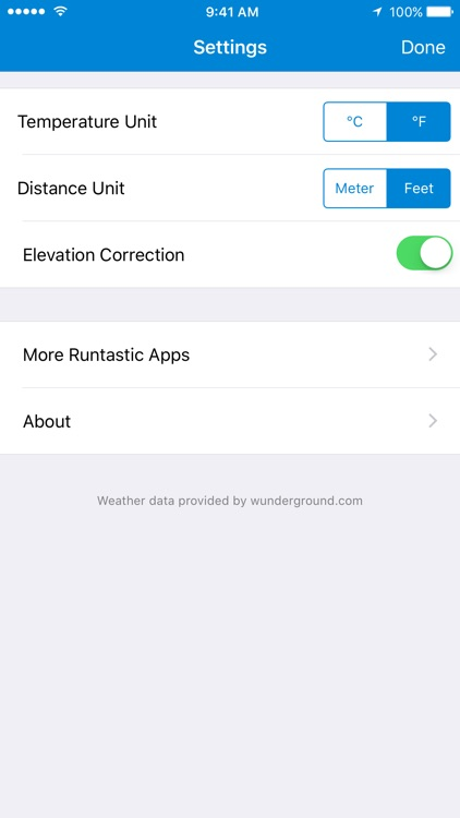 Runtastic Altimeter GPS screenshot-3