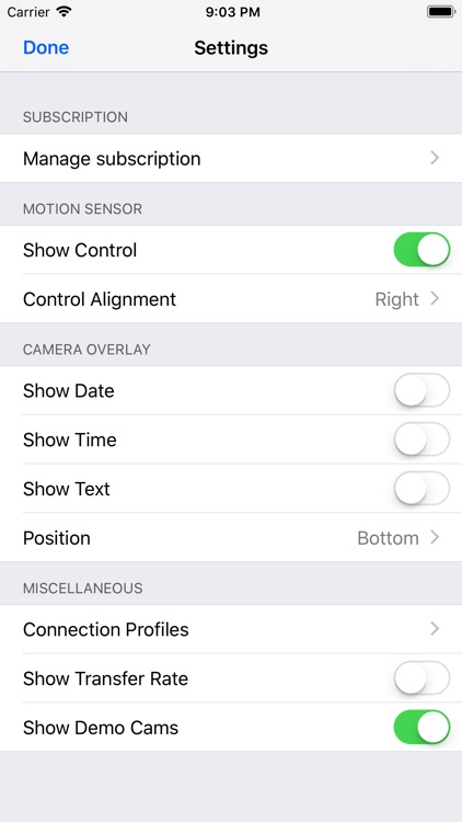 CameraControl Pro for AXIS screenshot-4