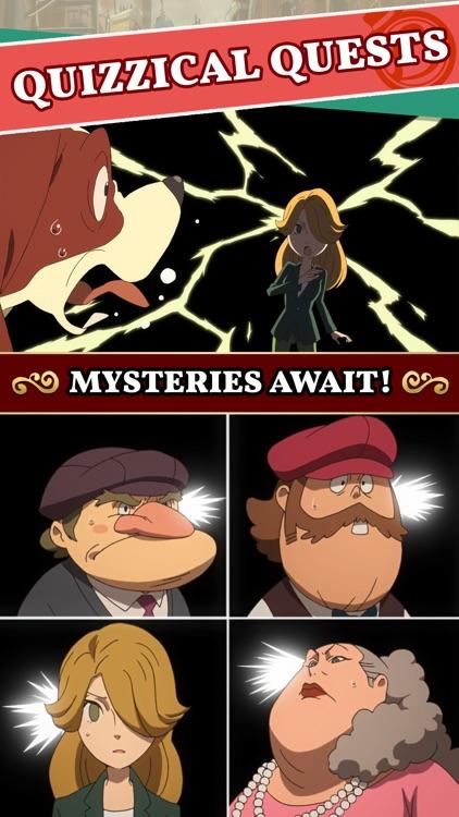 Layton's Mystery Journey screenshot-3