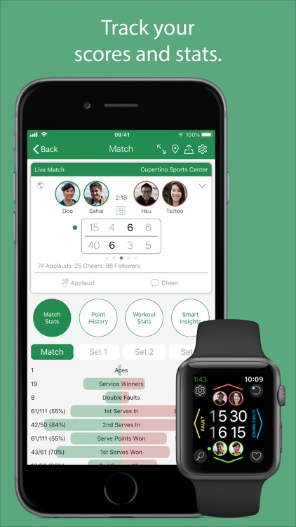 Swing™ Tennis Tracker