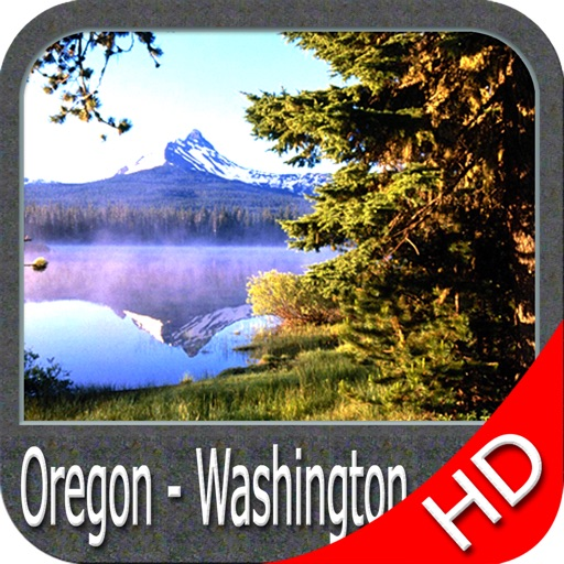 Oregon to Washington HD Charts