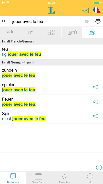 German French XL Dictionary