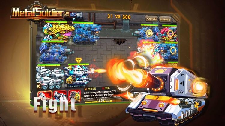 Metal Soldier:Tanks wars blitz screenshot-3