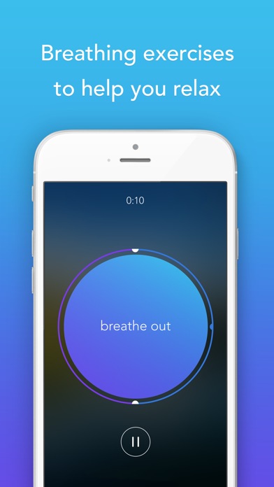 Screenshot 3 for Calm's iPhone app'