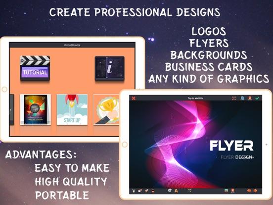 Screenshot #4 pour Créer des Flyers & Logos Maker