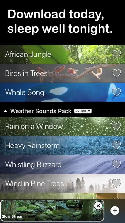 Rain Rain Sleep Sounds screenshot-3