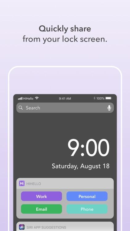 HiHello Contact Exchange screenshot-4