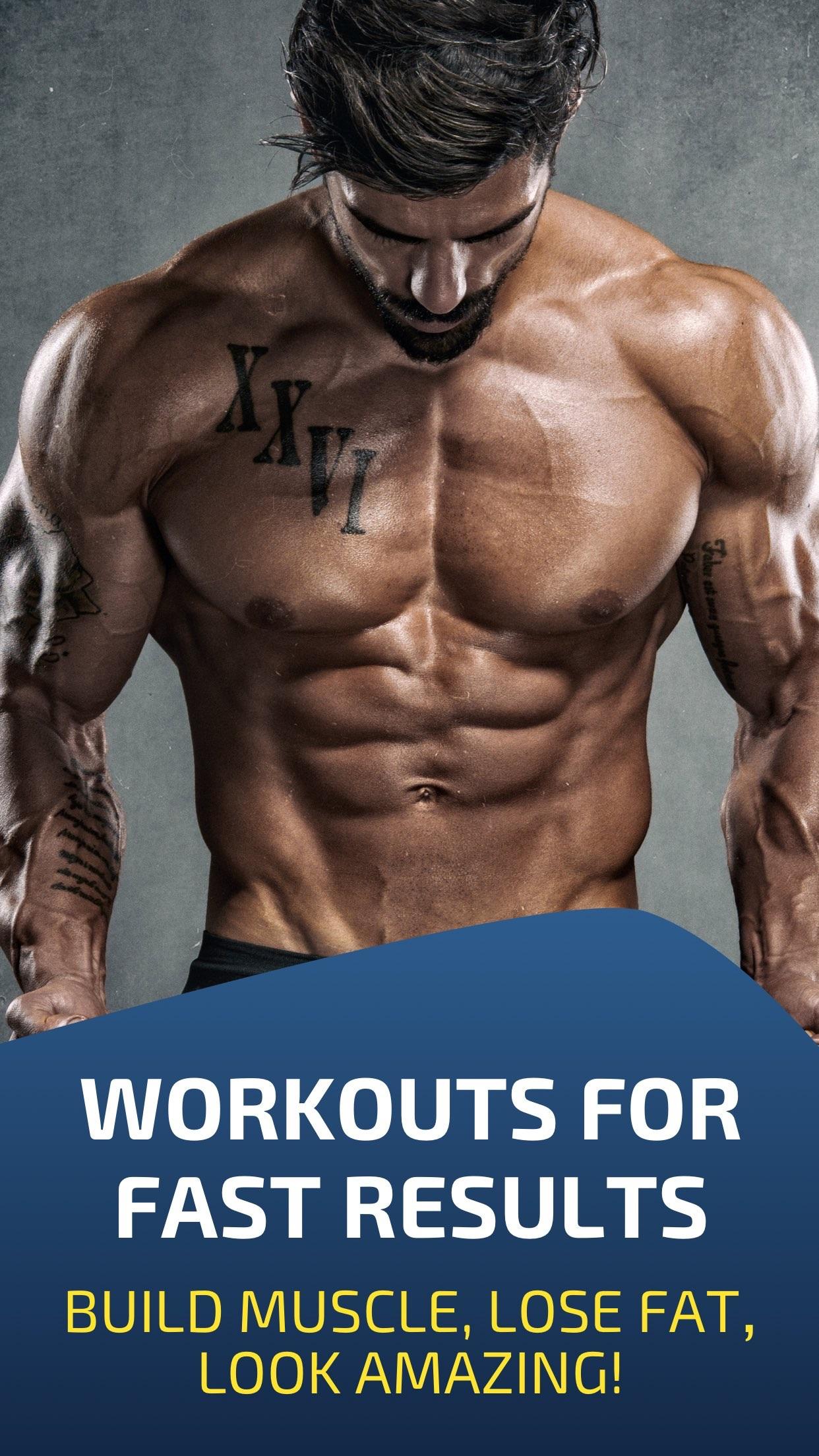 Workout: Gym tracker & planner Screenshot