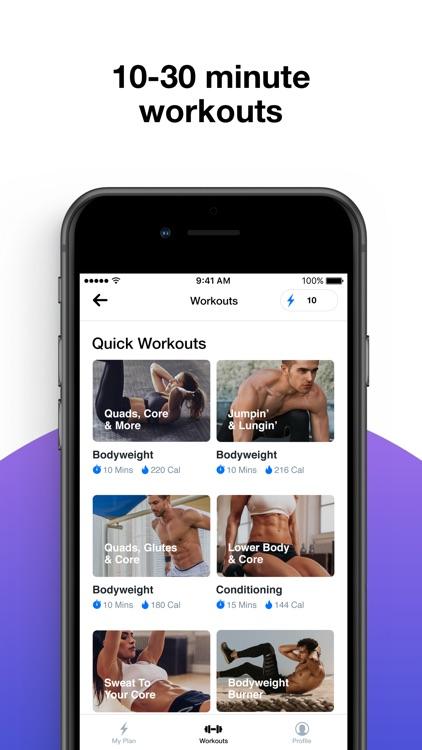 Evolv - Workout Planner screenshot-2