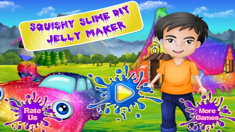 Squishy Slime DIY jelly Maker