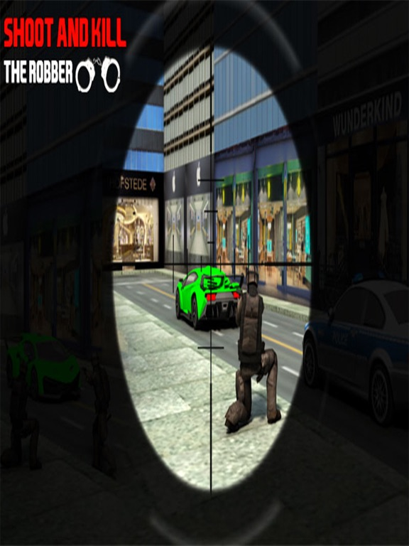 Bank Robbery Shooting Game-ipad-1