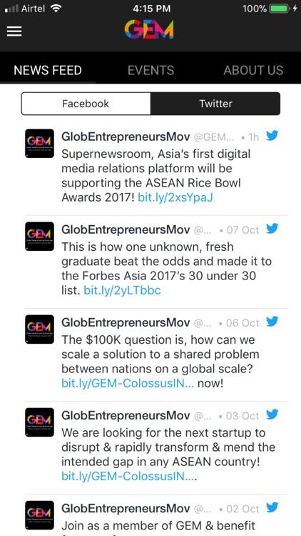 GEM - Global Entrepreneurship screenshot-3