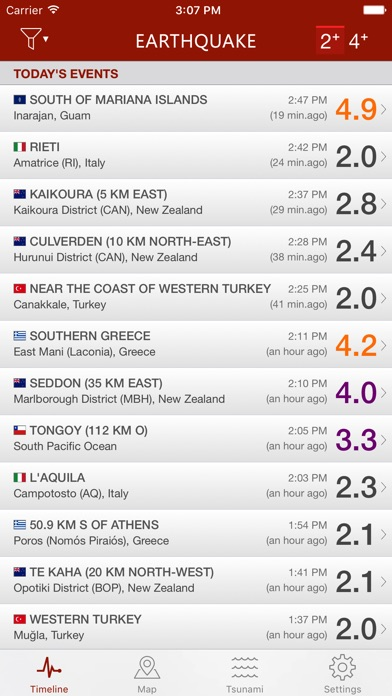 Earthquake Screenshot