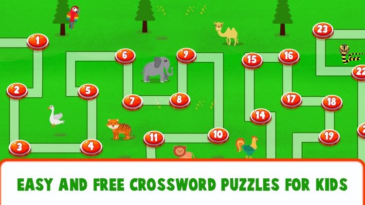 Educational Crossword For Kids screenshot-8