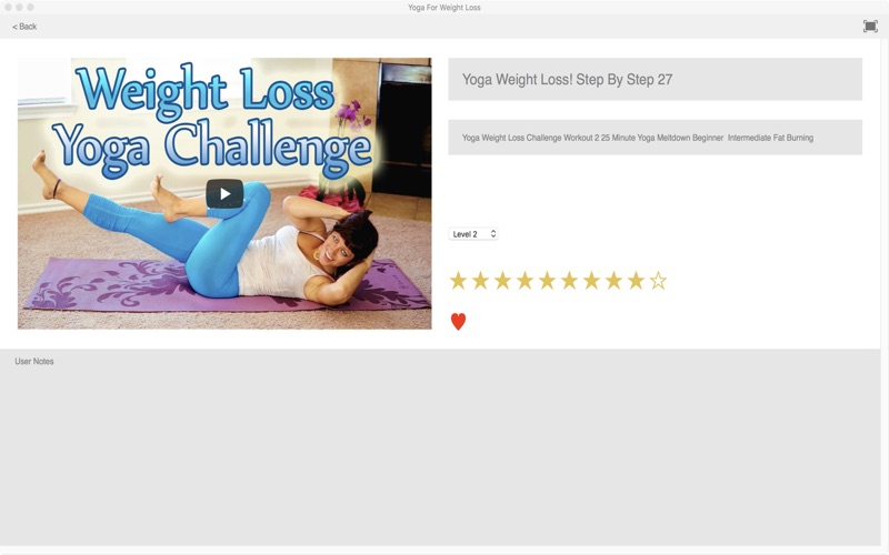 Yoga For Weight Loss screenshot 3