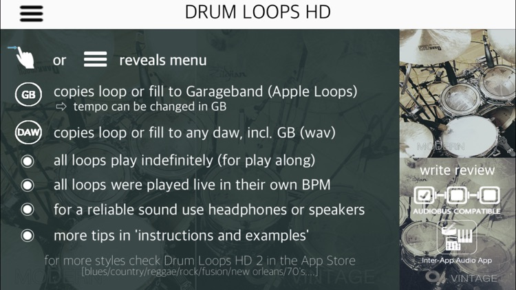 Drum Loops HD screenshot-0