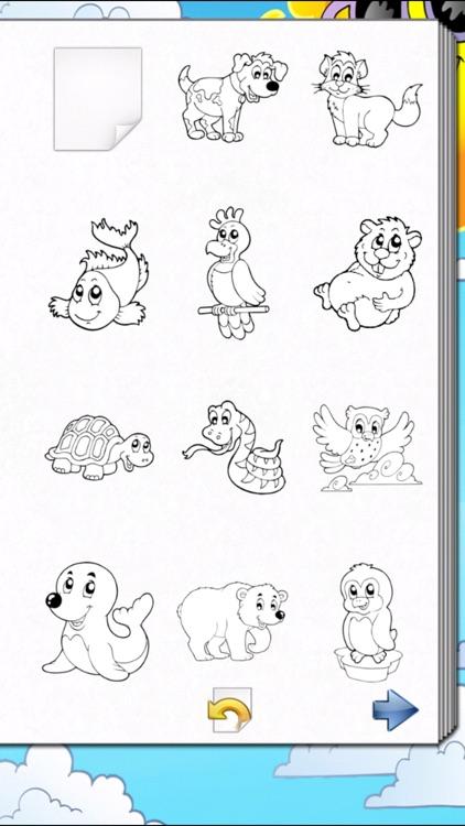 Kids Coloring Book! screenshot-3