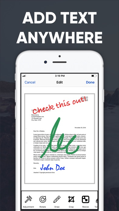 PDF Scanner - Scan to PDF App Screenshot