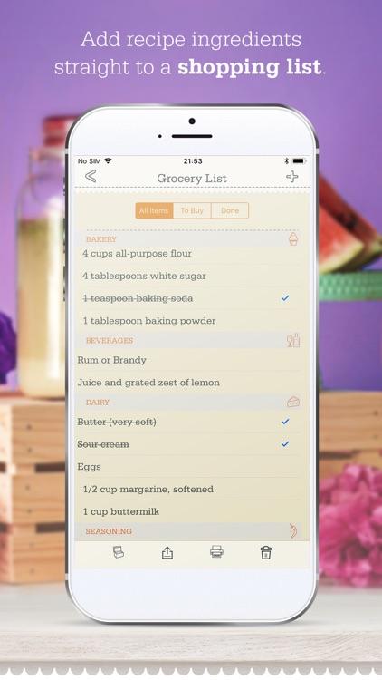 OrganizEat - Recipe Organizer screenshot-3