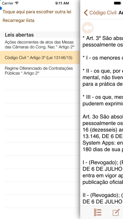 Vade Mecum Pro Direito Brasil screenshot-3