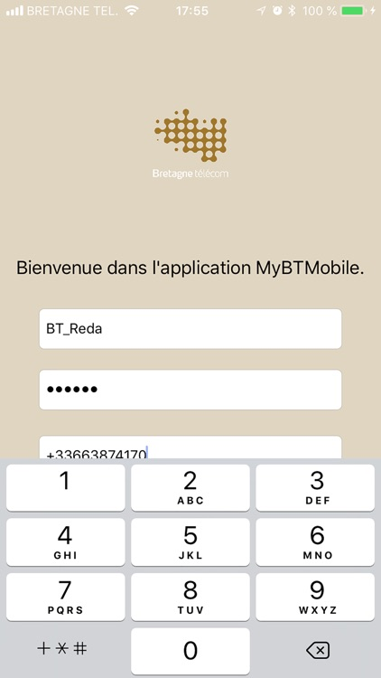 MyBTMobile screenshot-0