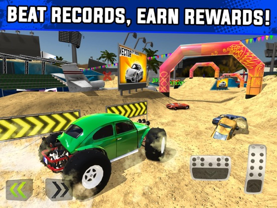 Monster Truck XT Airport Derby для iPad