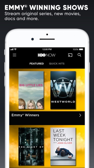 HBO NOW app image