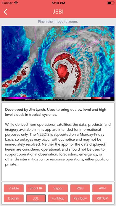 Typhoon Tracker (台風 태풍 台风) screenshot 9