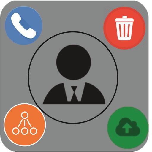 Erase/Merge Contact Remover iOS App