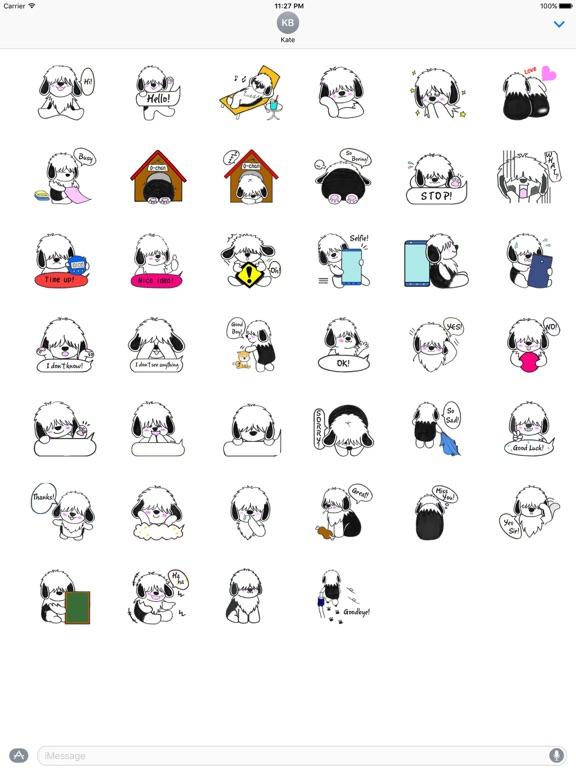 Shaggy Dog ShaggyMoji Sticker screenshot 4