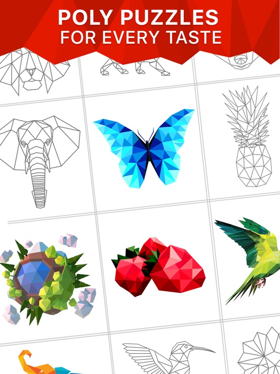 MOSAIC Now - Low Poly Puzzles | App Price Drops