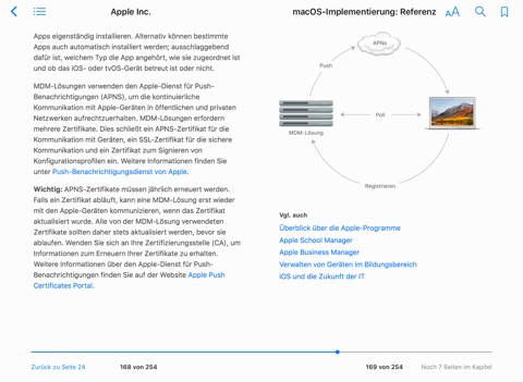 macOS-Implementierung: Referenz by Apple Inc. on iBooks