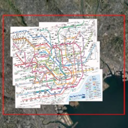 Tokyo Scale Offline Subway Map
