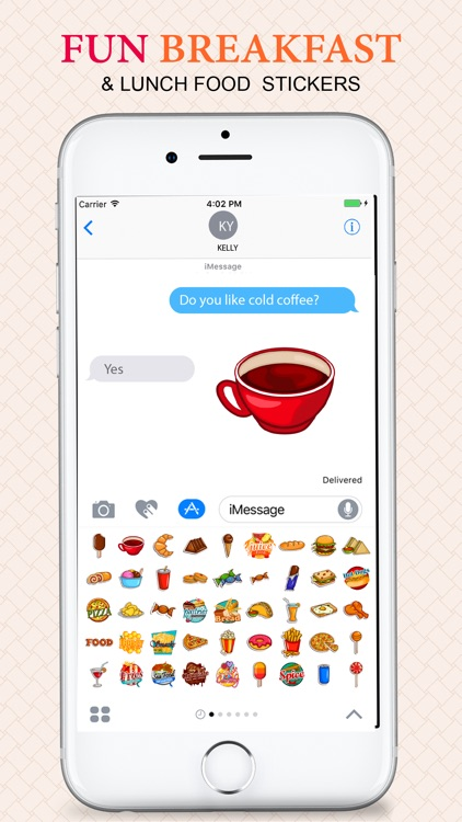 Foodie Food Stickers screenshot-4