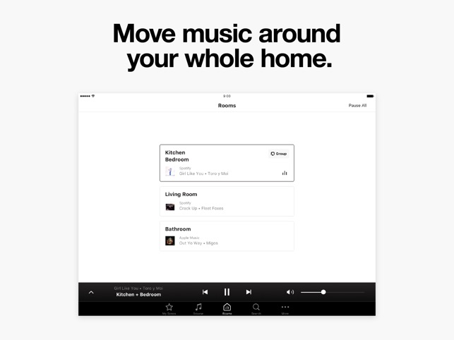 Sonos Controller Screenshot