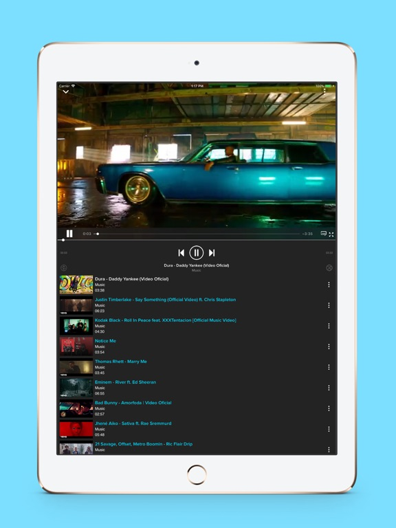 Tubidi - Music Video Player-ipad-1