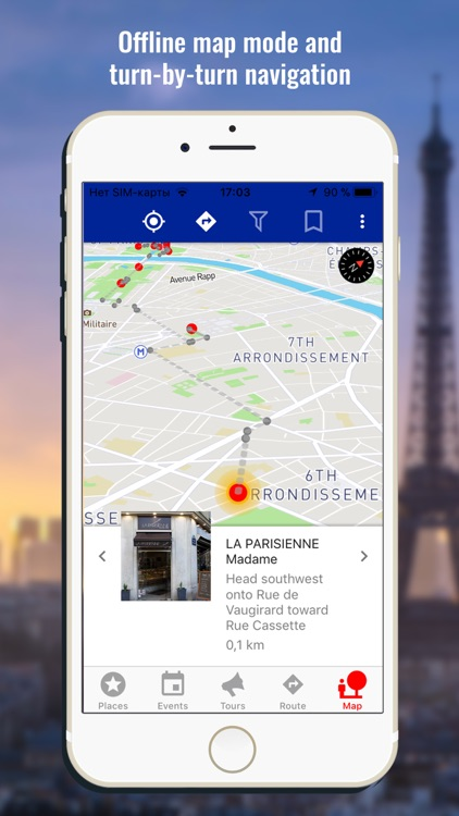 Paris travel map guide 2018 screenshot-3