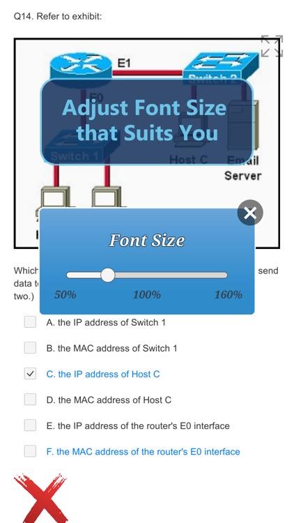 Cisco CIVND: 210-065 Exam screenshot-5