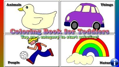 Coloring Book for Toddlers Kid screenshot one