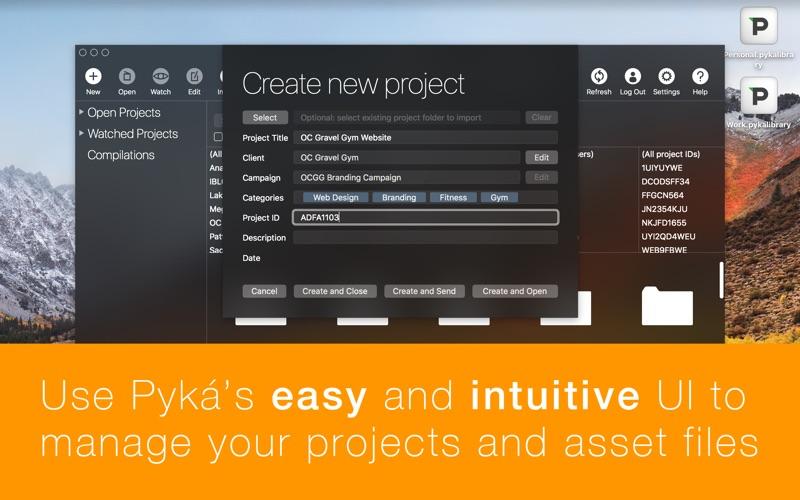 Pyká Unlimited Screenshots