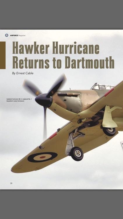 Revue Airforce Magazine screenshot-3