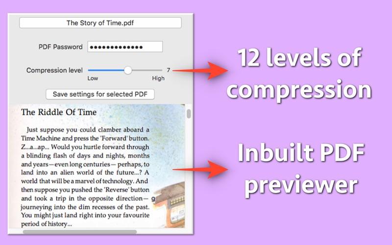 PDF Size Compressor