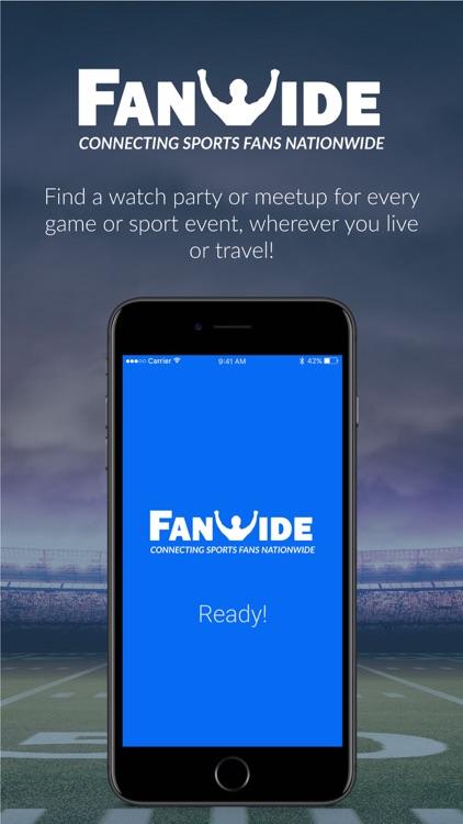 FanWide - Sports Fan Events screenshot-4