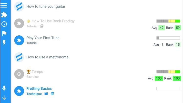 Guitar Lessons: Rock Prodigy screenshot-5