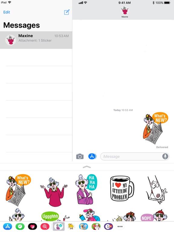 Maxine Stickers screenshot 5