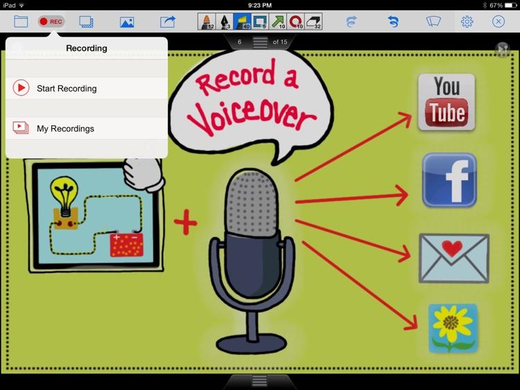 Doceri Interactive Whiteboard screenshot-3